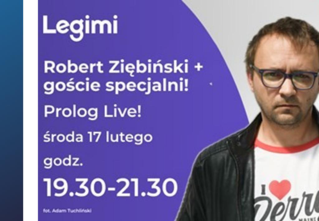 Prolog Live! Robert Ziębiński + goście specjalni